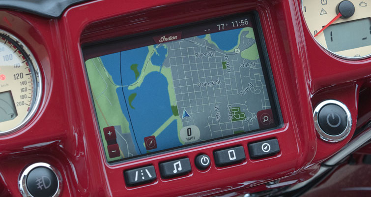 The Indian Motorcycle® Ride Command® System